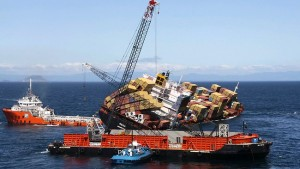 Recovering the MV Rena