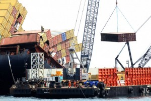 Recovering the MV Rena Logistix Au